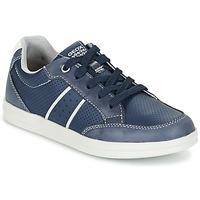 Schuhe Jungen Sneaker Low Geox J ANTHOR B. B Marine / Weiss