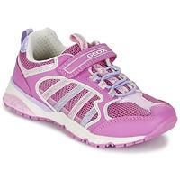 Schuhe Mädchen Sneaker Low Geox J BERNIE G. A Rose / Lila