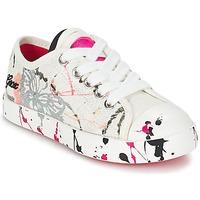 Schuhe Kinder Sneaker Low Geox J CIAK G. D Weiss / Rose