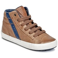 Schuhe Jungen Sneaker High Geox J ALONISSO B. B Cognac