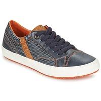 Schuhe Jungen Sneaker Low Geox J ALONISSO B. A Marine / Braun