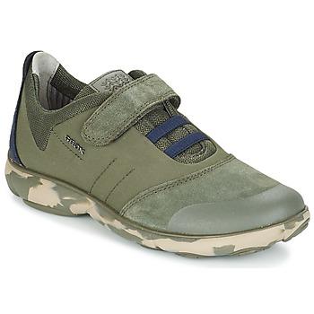 Schuhe Kinder Sneaker Low Geox J NEBULA B. A Navy