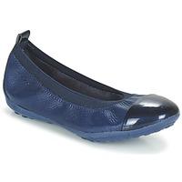 Schuhe Mädchen Ballerinas Geox J PIUMA BALL B Marine