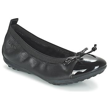 Schuhe Mädchen Ballerinas Geox J PIUMA BAL F Schwarz