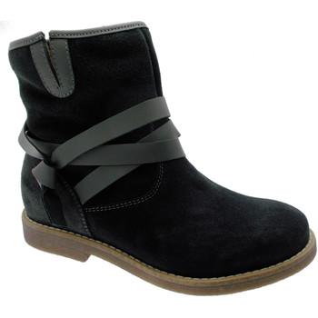 Schuhe Damen Ankle Boots Calzaturificio Loren LOC3708gr grigio