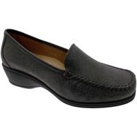 Schuhe Damen Slipper Calzaturificio Loren LOK3961gr grigio