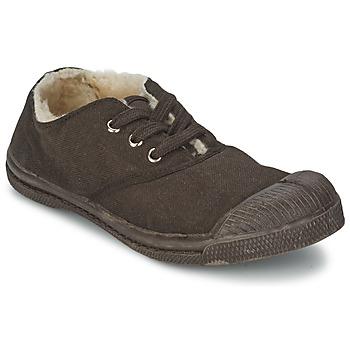 Sneaker Bensimon TENNIS FOURREES Schokolade 350x350