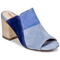 Schuhe Damen Pantoffel Hush puppies SAYER Blau