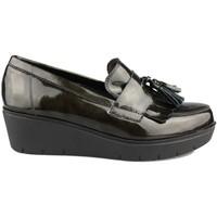 Schuhe Damen Slipper Kroc MOCASIN CON CUÑA VERDE