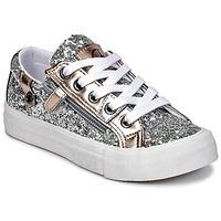 Schuhe Mädchen Sneaker Low Kaporal AMBERA Silbern