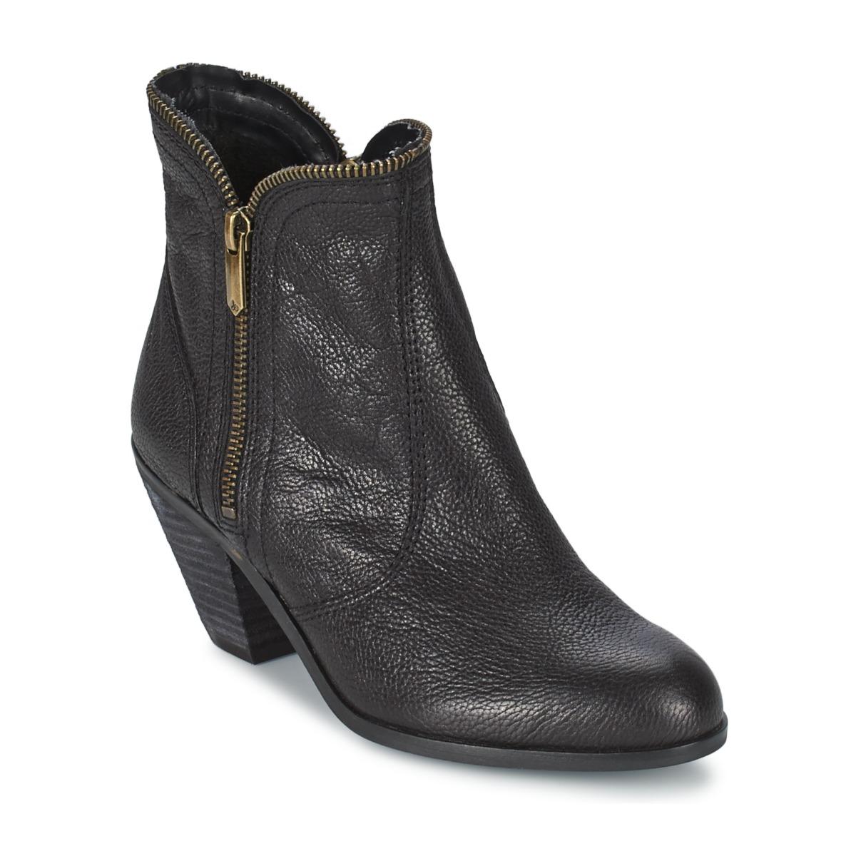 Sam Edelman LINDEN Schwarz - Kostenloser Versand bei Spartoode ! - Schuhe Low Boots Damen 145,60 €