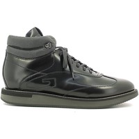 Schuhe Herren Sneaker High Alberto Guardiani SU73411A Sneakers Man Black Black
