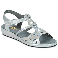 Schuhe Damen Sandalen / Sandaletten Arcus SALON Silbern