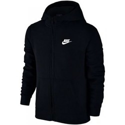 Kleidung Kinder Sweatshirts Nike SW Hoodie FZ Club Junior 805499-010 Black
