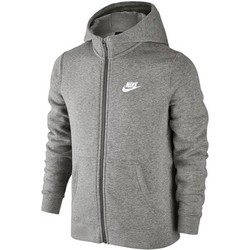 Kleidung Kinder Sweatshirts Nike SW Hoodie FZ Club Junior 805499-063 Grey
