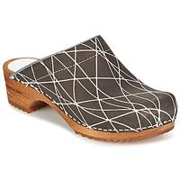 Schuhe Damen Pantoletten / Clogs Sanita ARLA Anthrazit
