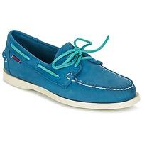 Schuhe Herren Bootsschuhe Sebago DOCKSIDES Blau