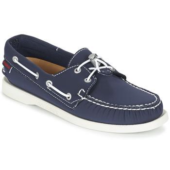 Schuhe Damen Bootsschuhe Sebago DOCKSIDES ARIAPRENE Marine