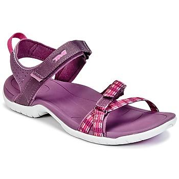 Schuhe Damen Sportliche Sandalen Teva VERRA Violett
