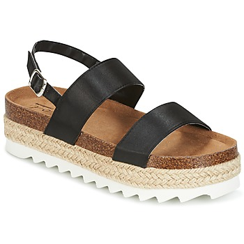 Schuhe Damen Sandalen / Sandaletten Coolway KOALA Schwarz
