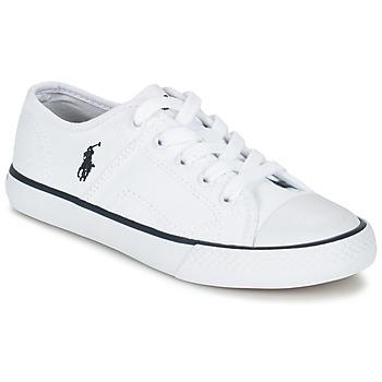 Schuhe Kinder Sneaker Low Ralph Lauren DYLAND Weiss