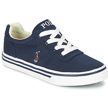 Schuhe Jungen Sneaker Low Polo Ralph Lauren HANFORD Marine