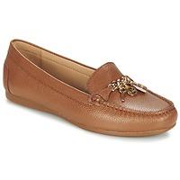 Schuhe Damen Slipper MICHAEL Michael Kors SUKI MOC Braun