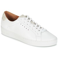 Schuhe Damen Sneaker Low MICHAEL Michael Kors IRVING LACE UP Weiss