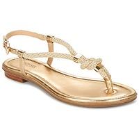 Schuhe Damen Sandalen / Sandaletten MICHAEL Michael Kors HOLLY Gold