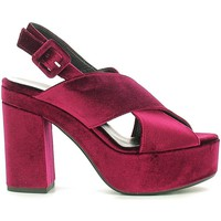 Schuhe Damen Sandalen / Sandaletten Grace Shoes ROMA09F9 High heeled sandals Frauen Bordeaux