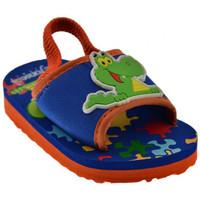 Schuhe Kinder Pantoffel De Fonseca Diverte pantoletten hausschuhe Blau