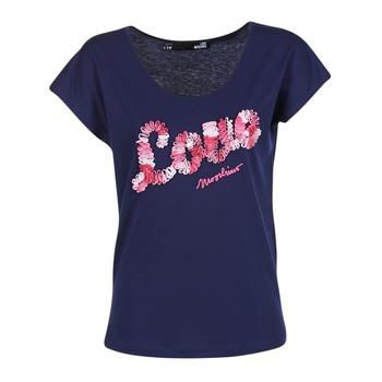 Kleidung Damen T-Shirts Love Moschino W4G4127 Blau
