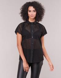 Kleidung Damen Hemden Love Moschino WCC0480 Schwarz