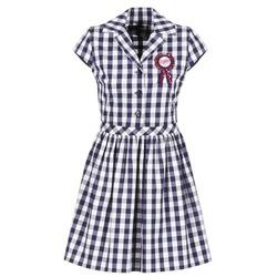 Kleidung Damen Kurze Kleider Love Moschino WVF3001 Blau / Weiss