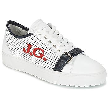 Schuhe Herren Sneaker Low John Galliano 2477CA Weiss