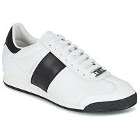 Schuhe Herren Sneaker Low Roberto Cavalli 2042C Weiss / Schwarz