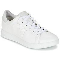 Schuhe Damen Sneaker Low Geox JAYSEN A Weiss