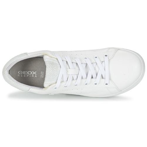 Geox JAYSEN A Weiss  Schuhe Sneaker Low Damen 79,99