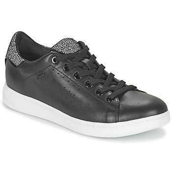 Schuhe Damen Sneaker Low Geox JAYSEN A Schwarz