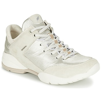 Schuhe Damen Sneaker Low Geox SFINGE A Weiss