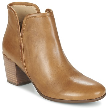 Schuhe Damen Low Boots Geox LUCINDA B Curry