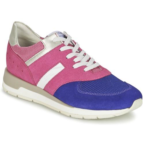 Geox SHAHIRA A Rose / Violett  Schuhe Sneaker Low Damen