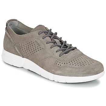 Schuhe Herren Sneaker Low Geox BRATTLEY A Grau