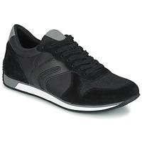 Schuhe Herren Sneaker Low Geox VINTO C Schwarz