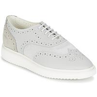 Schuhe Damen Sneaker Low Geox THYMAR B Grau