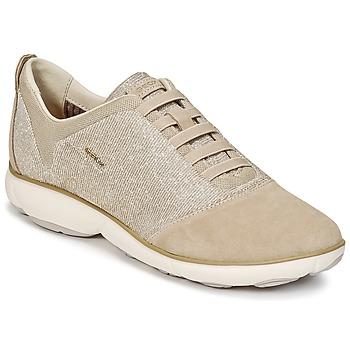 Schuhe Damen Sneaker Low Geox D NEBULA G Maulwurf