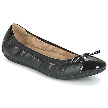 Schuhe Damen Ballerinas Geox D LOLA 2FIT C Schwarz