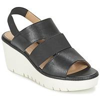 Schuhe Damen Sandalen / Sandaletten Geox D DOMEZIA B Schwarz