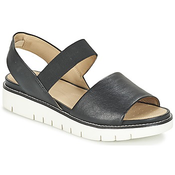 Schuhe Damen Sandalen / Sandaletten Geox D DARLINE C Schwarz