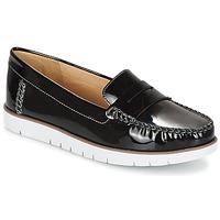 Schuhe Damen Derby-Schuhe Geox D KOOKEAN F Schwarz